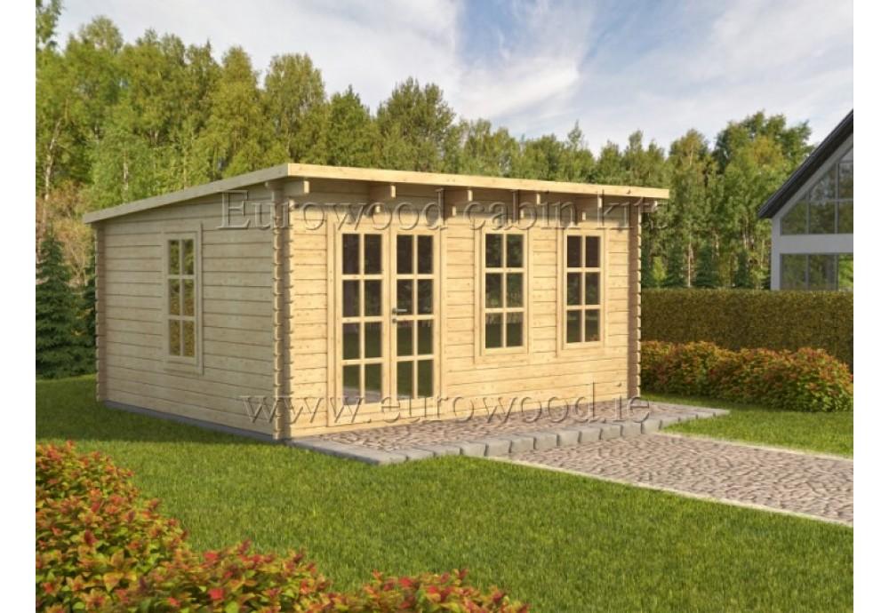 Dārza mājiņa ATLANT plus 5x4 m (20 m²), 44 mm