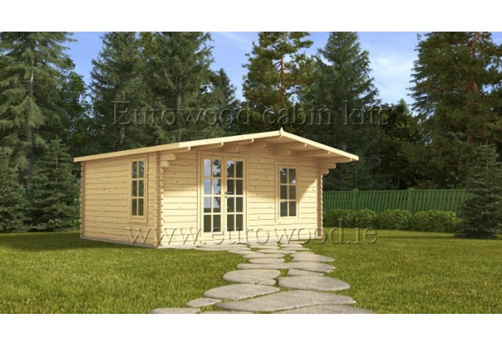 Dārza mājiņa Head office 5x4m (20m²), 44mm