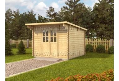 Dārza mājiņa PAU 3x3 m, 34 mm