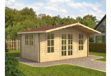 Dārza mājiņa YORK 5x3 m (15 m²), 44 mm